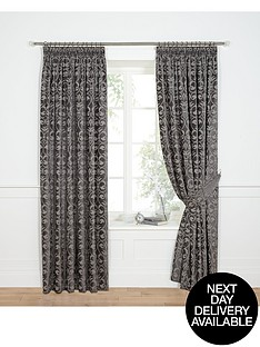 laurence-llewelyn-bowen-imperial-dream-chenille-jacquard-pleated-curtains