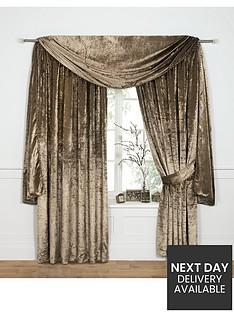 laurence-llewelyn-bowen-venezia-velvet-effect-scarf-pelmet-548-cm-215-inch