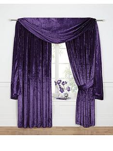 laurence-llewelyn-bowen-venezia-velvet-effect-scarf-pelmet