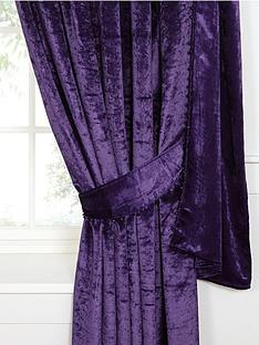 laurence-llewelyn-bowen-venezia-velvet-effect-tie-backs-pair