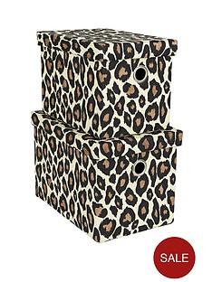 set-of-2-rectangular-animal-print-lidded-boxes-leopard