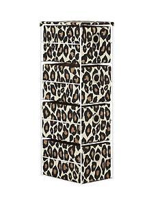 4-tier-animal-print-drawer-unit-leopard