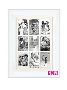 innova-home-9-aperture-photo-frame-white