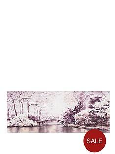 graham-brown-watercolour-forest-bridge-canvas