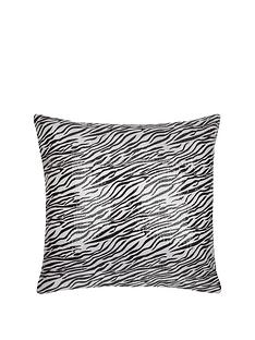 sequin-zebra-cushion