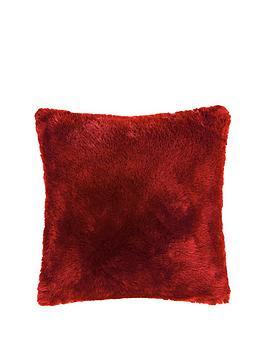 plain-faux-fur-cushion