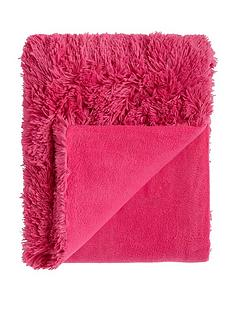 catherine-lansfield-cuddly-throw-hot-pink