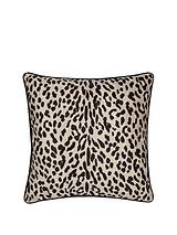 Snow Leopard Accent Cushion
