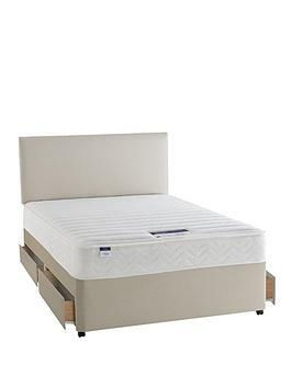 Silentnight Miracoil 3 Celine Memory Divan With Optional Storage And Next Day Delivery