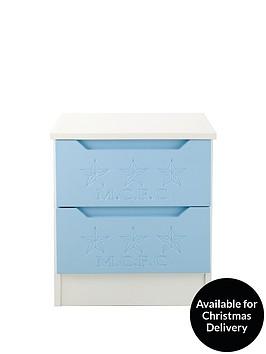 manchester-city-2-drawer-bedside-cabinet