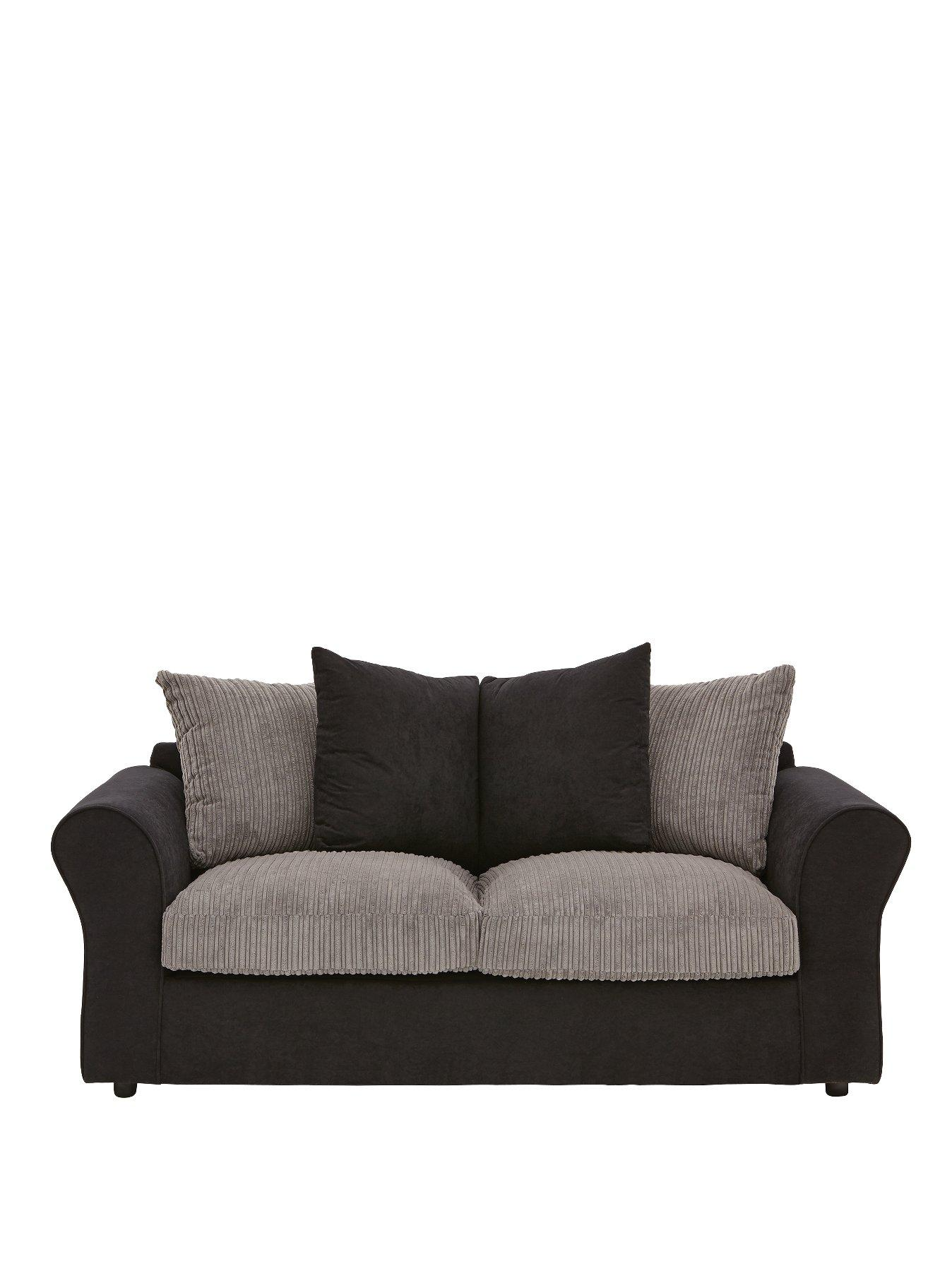 zayne compact fabric sofa bed