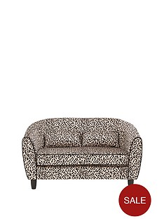 fearne-cotton-snow-leopard-2-seater-sofa