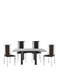 80-160-cm-gloss-square-to-rectangle-dining-table-4-atlantic-chairs-buy-and-save