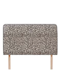 fearne-cotton-snow-leopard-headboard