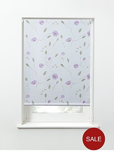 summer-flower-printed-thermal-blackout-roller-blind-pink
