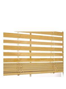 faux-wooden-venetian-blind