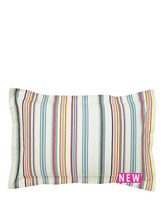 joules-bath-stripe-oxford-pillowcase-multi
