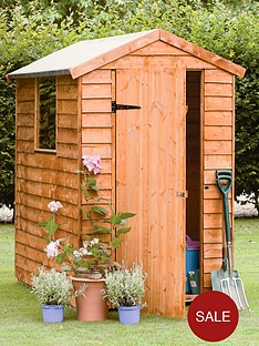 forest-6-x-4ft-single-door-with-single-window-overlap-garden-shed