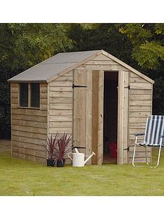 forest-7-x-7ft-double-door-with-2-styrene-windows-overlap-garden-shed
