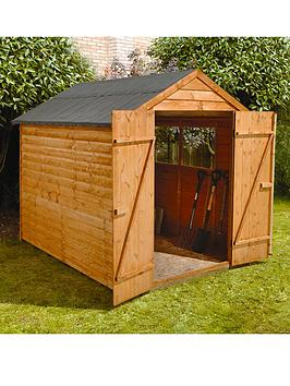 forest-8-x-6ft-double-door-with-2-styrene-windows-overlap-shed