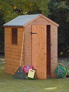 forest-6-x-4-ft-single-door-1-styrene-window-tongue-and-groove-garden-shed