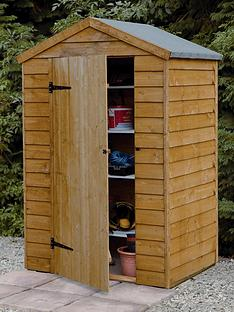 forest-4-x-3ft-single-door-overlap-shed-with-optional-assembly