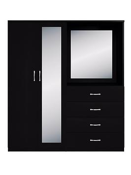 portland-2-door-4-drawer-combi-wardrobe