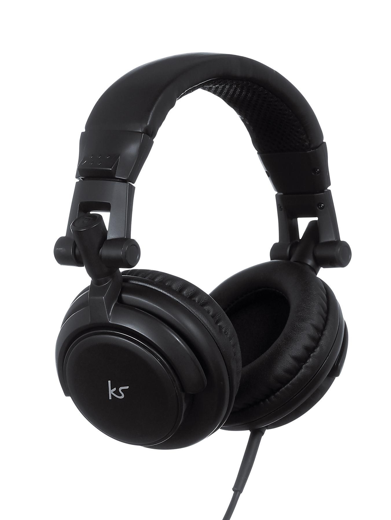 Kitsound DJ Headphones - Black