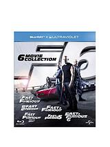 Fast & Furious: The 6 Movie Collection Blu-ray