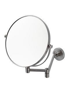 aqualux-haceka-pro2500-brushed-nickel-shaving-mirror