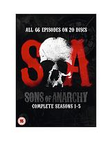 Sons Of Anarchy - Seasons 1-5 DVD
