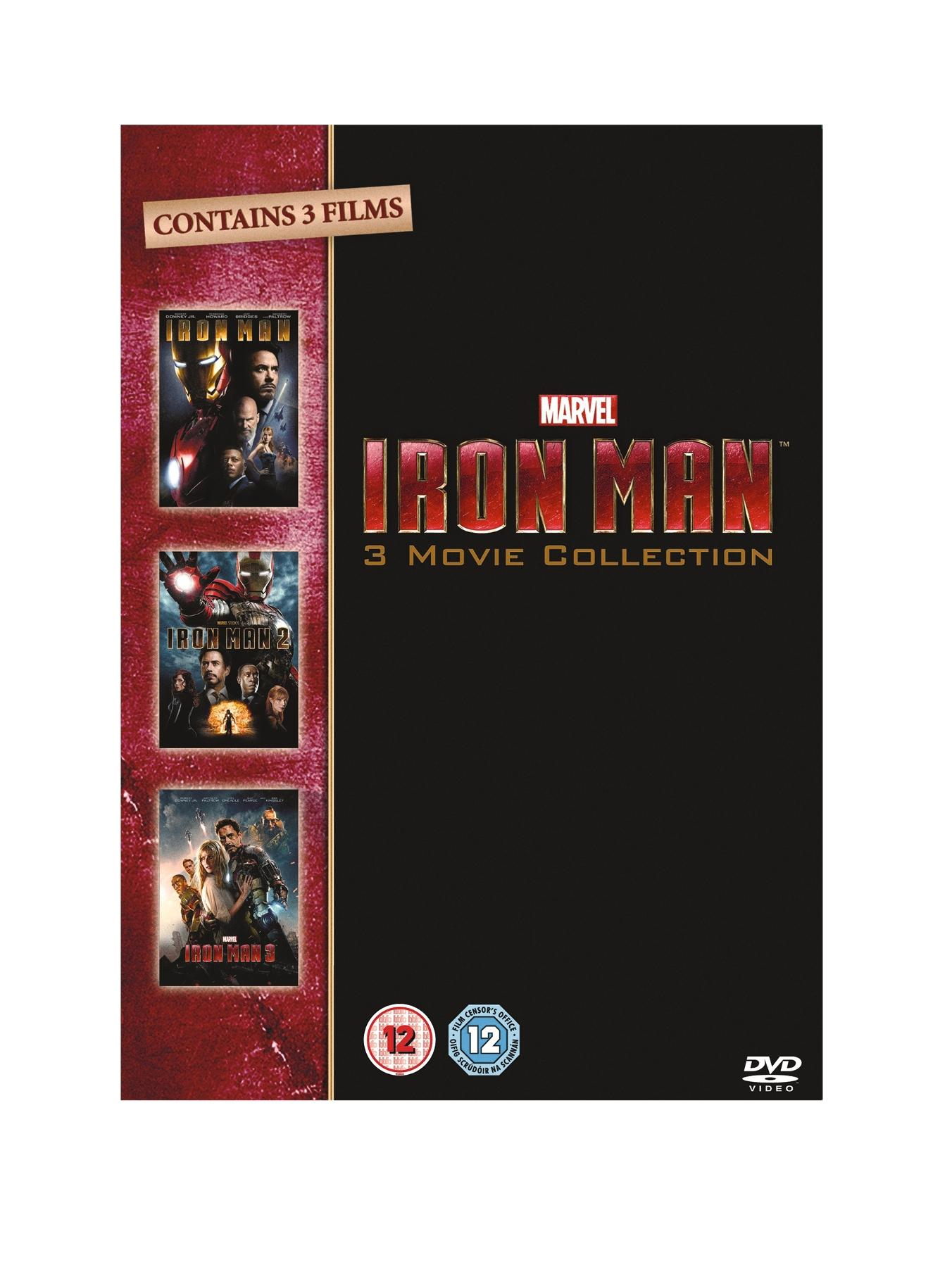Iron Man 1-3 DVD