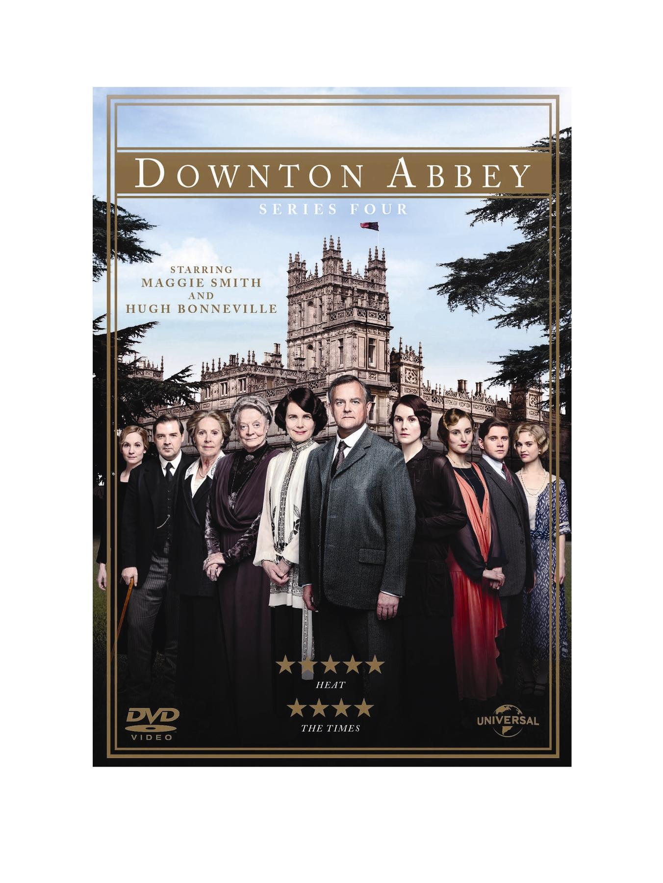 Downton Abbey - Series 4 DVD