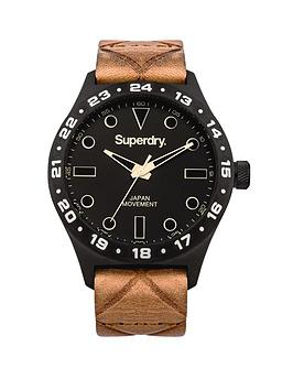 superdry-hatch-black-dial-brown-leather-strap-mens-watch