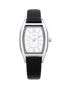 oasis-white-dial-and-black-croc-strap-ladies-watch