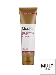 murad-water-resistant-sunscreen-broad-spectrum-spf-30-125ml-and-free-murad-flawless-finish-gift-set
