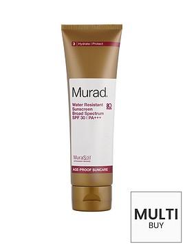 murad-water-resistant-sunscreen-broad-spectrum-spf-30-125ml-free-murad-essentials-gift
