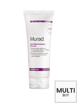 murad-age-reform-ahabha-exfoliating-cleanser-200ml-and-free-murad-flawless-finish-gift-set