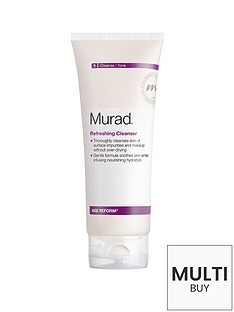 murad-age-reform-refreshing-cleanser-200ml-and-free-murad-flawless-finish-gift-set