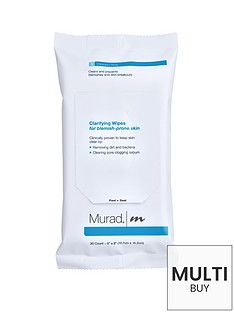 murad-blemish-control-clarifying-wipes-and-free-murad-flawless-finish-gift-set