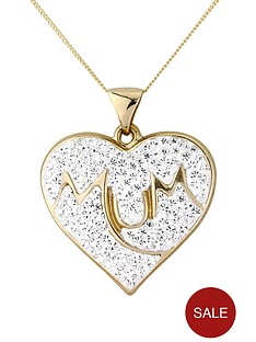 keepsafe-9-carat-yellow-gold-crystal-set-mum-pendant
