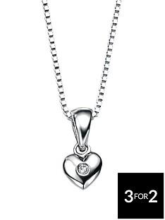 d-for-diamond-childrens-sterling-silver-heart-pendant