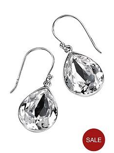 elements-sterling-silver-teardrop-clear-swarovski-crystal-drop-earrings