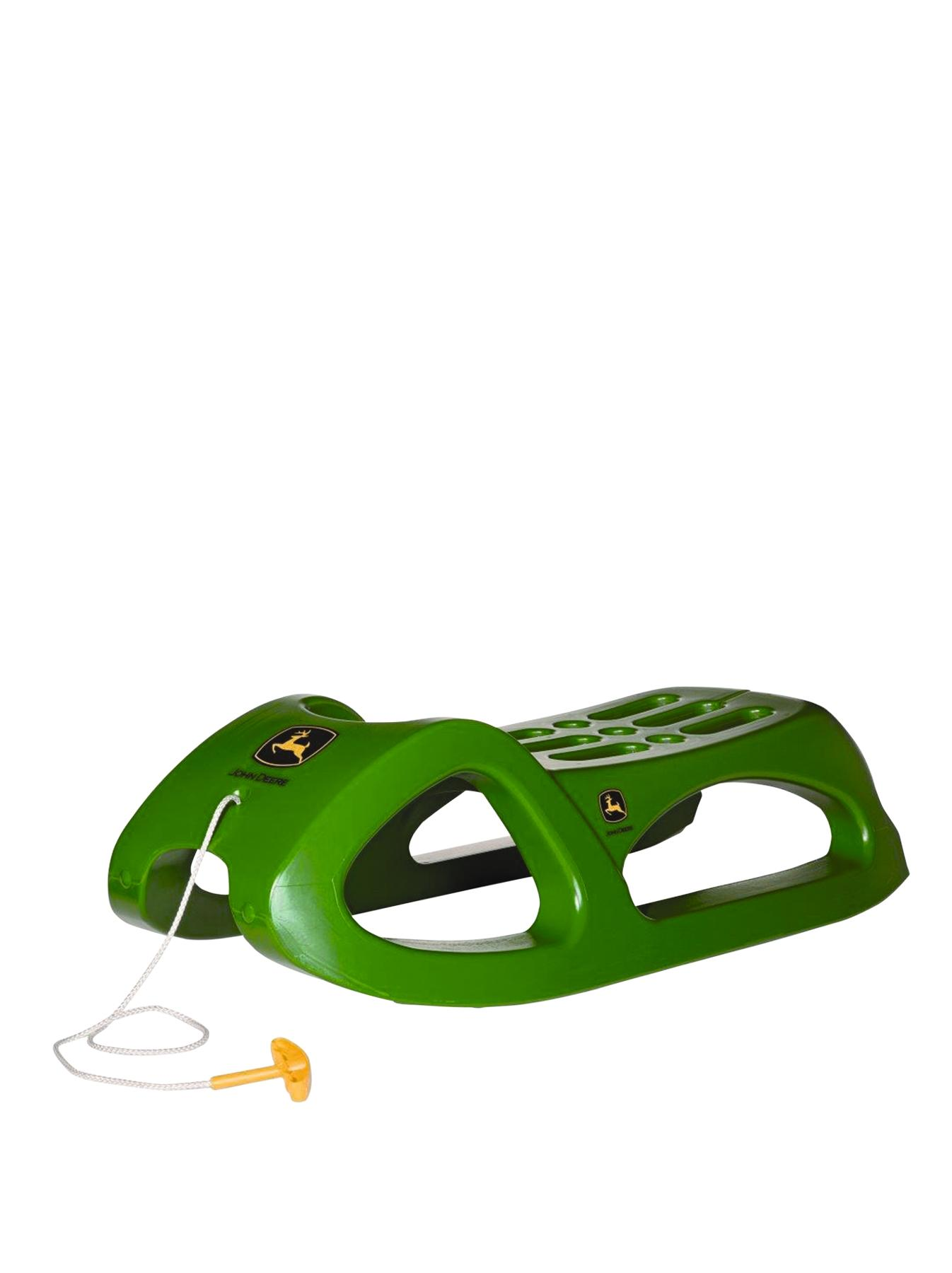 Rolly Toys Snow Crusier Sledge - John Deere