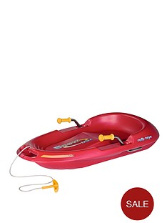 rolly-toys-snow-max-sledge-red