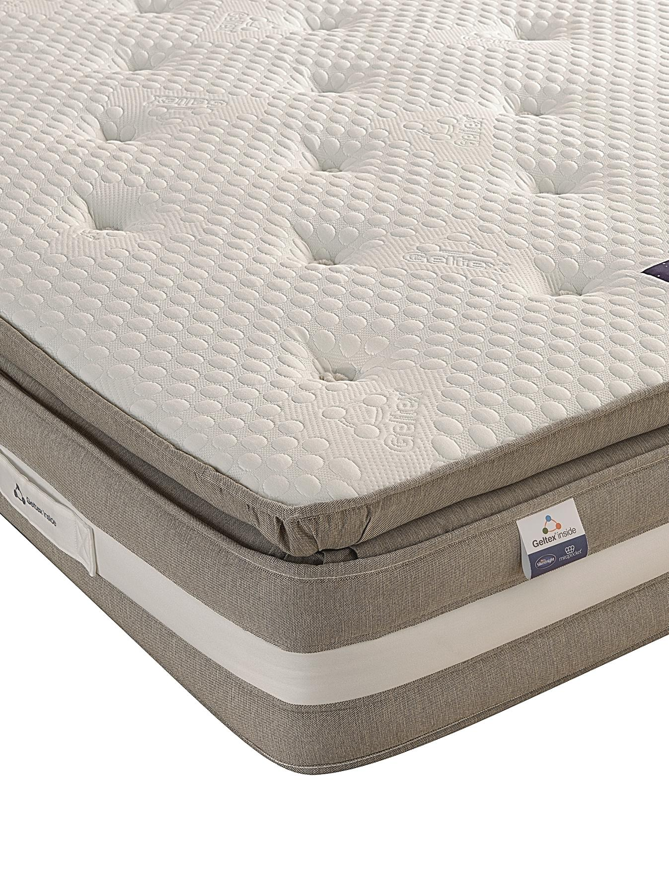 Silentnight Geltex Affinity 1850 Pocket Pillow Top Mattress