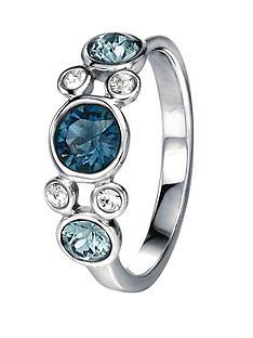 fiorelli-sterling-silver-blue-cluster-swarovski-crystal-ring