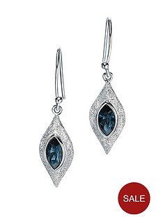 fiorelli-rhodium-plated-turquoise-swarovski-crystal-earrings