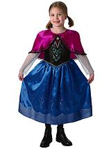 Girls Deluxe Anna (Travelling outfit) - Child Costume