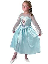 Girls Classic Elsa - Child Costume Age 3-8 Years